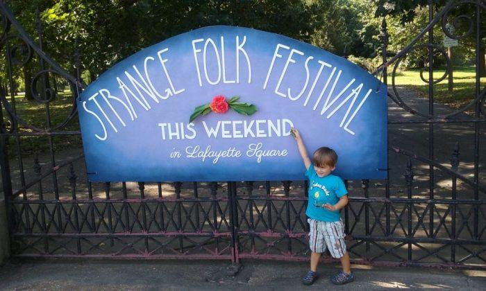 View from 2323 - Strange Folk Festival