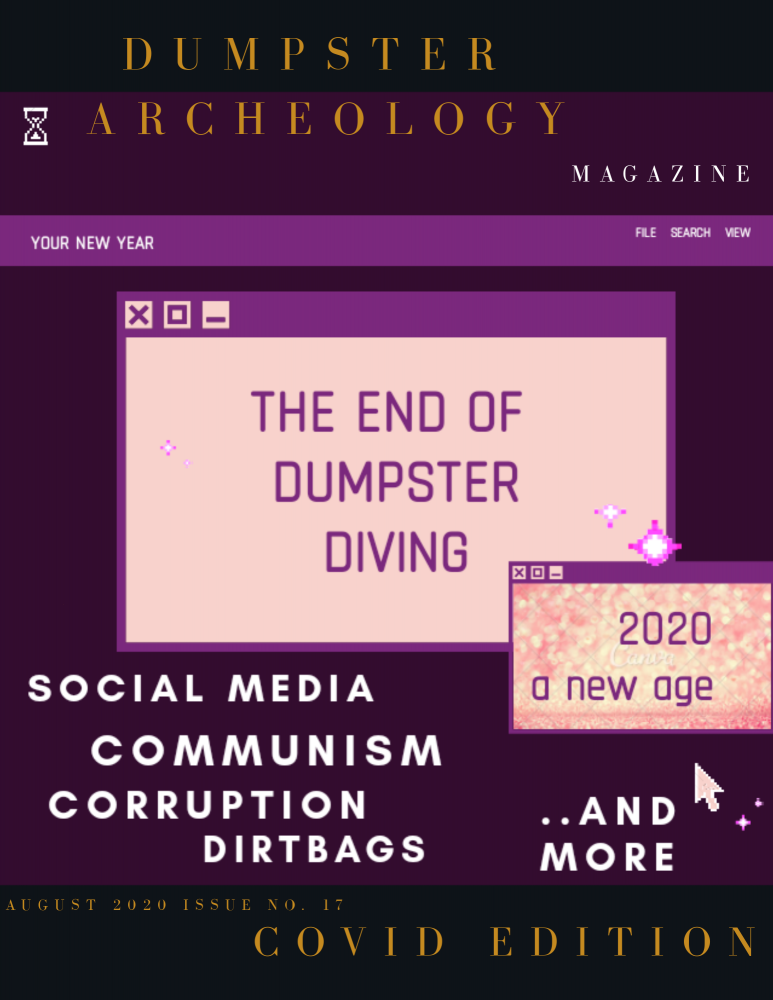 The End of Dumpster Diving 2020 Digital Magazine