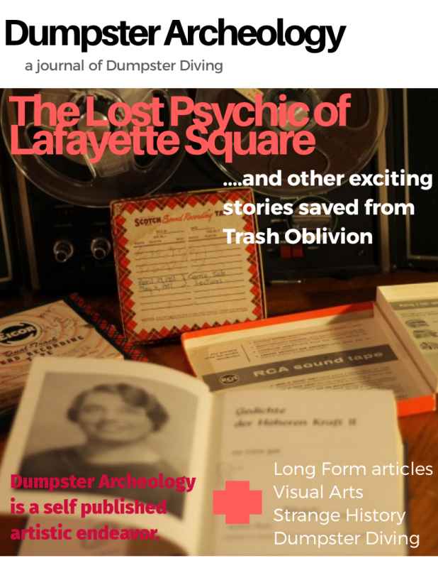 the lost psychic of Lafayette Square